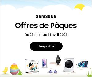 SAMSUNG offre de pâques 2021