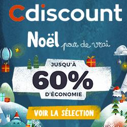 soldes sur cdiscount -60% noel 2019