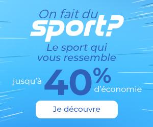 sport sur cdiscount -40%