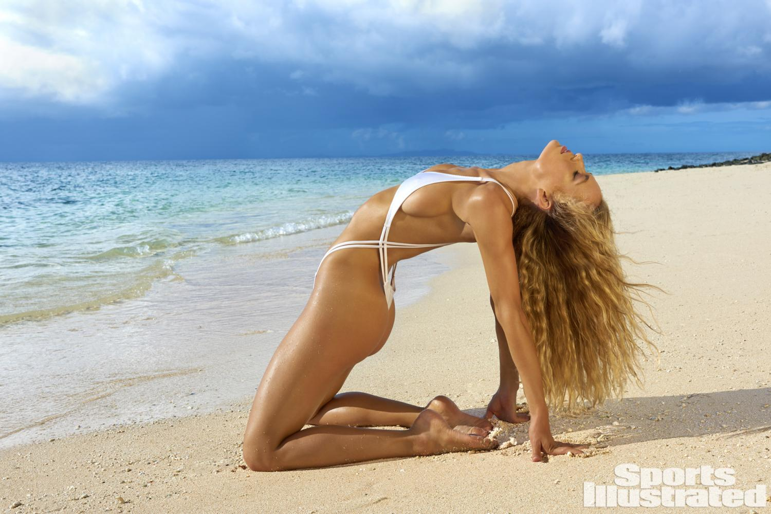 hannah ferguson si swimsuit 2017 bikini string thong sexy hot nude naked