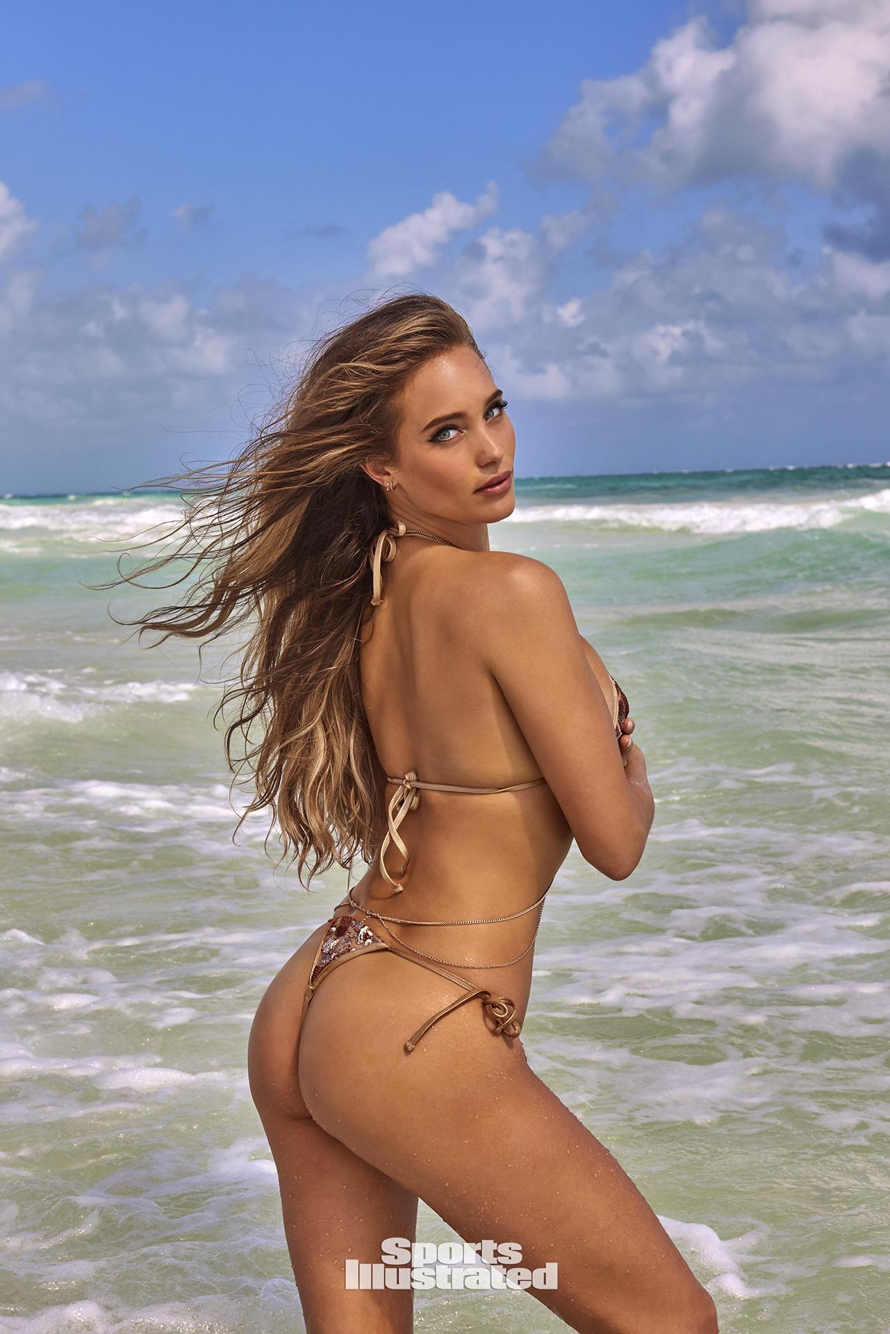 hannah jeter si swimsuit 2017 bikini string thong sexy hot nude naked