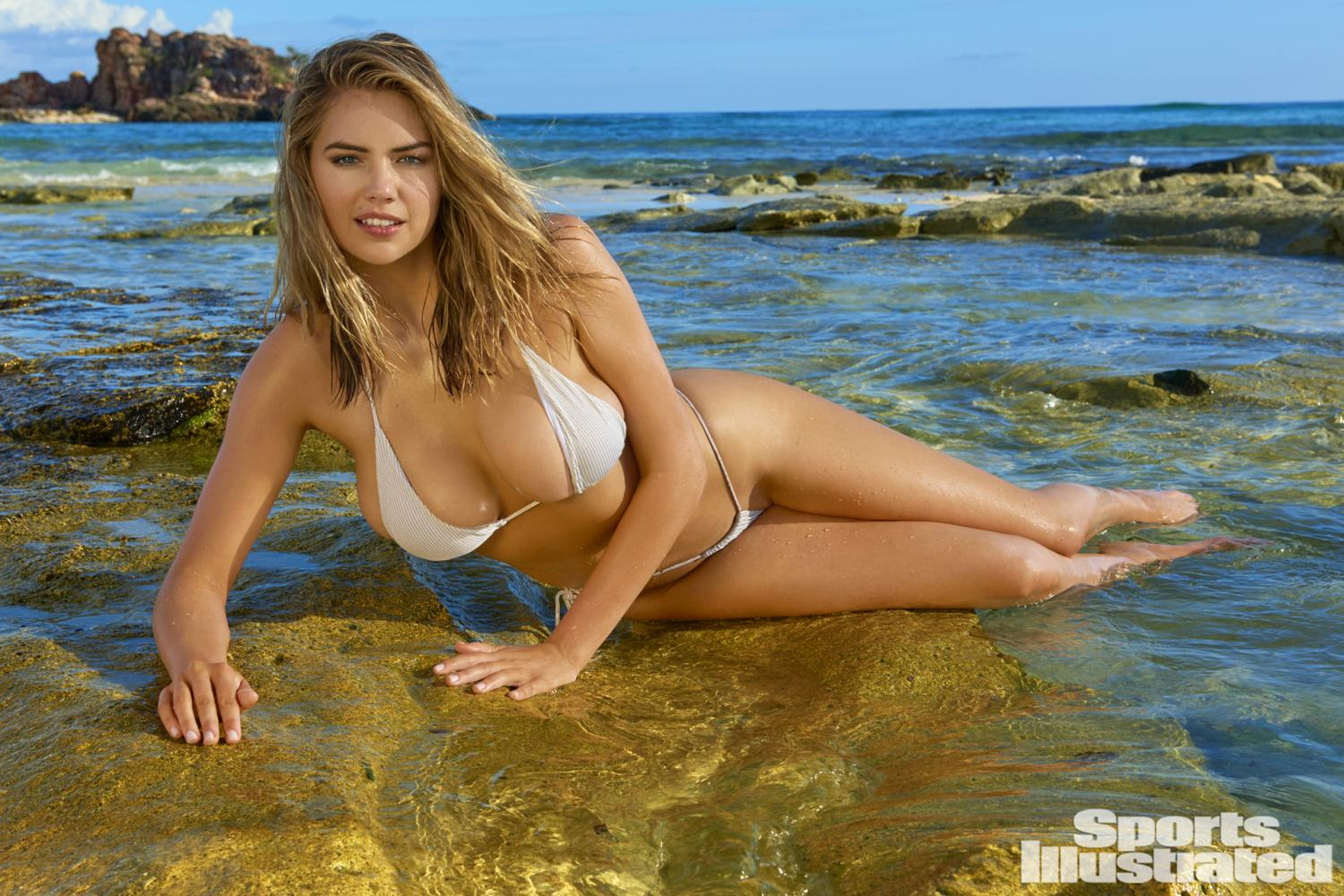 kate upton si swimsuit 2017 bikini string thong sexy hot nude naked