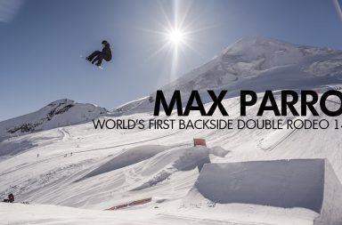 Première Mondiale pour Max Parrot avec un Double Backside Rodeo 1440
