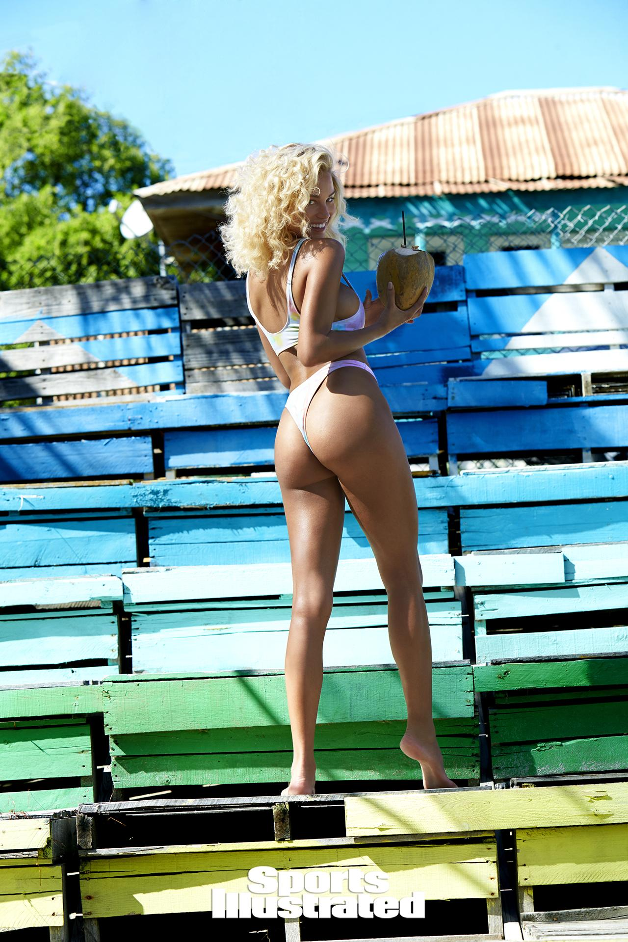rose bertram si swimsuit 2017 bikini string thong sexy hot nude naked