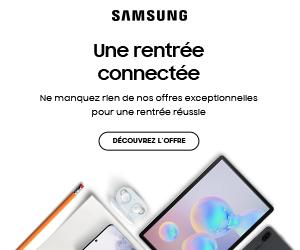 SAMSUNG rentrée connectée 2020