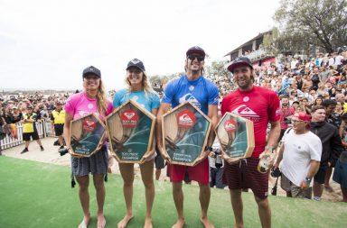 Owen Wright et Stephanie Gilmore remportent les Quiksilver Pro et Roxy Pro Gold Coast