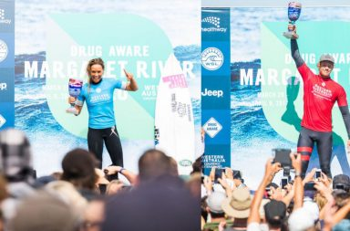 Sally Fitzgibbons et John John Florence gagnent le Drug Aware Margaret River Pro 2017