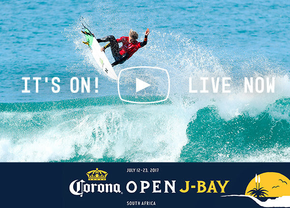 Suivez le live de Corona Open J-Bay 2017 en live sur Ride And Slide