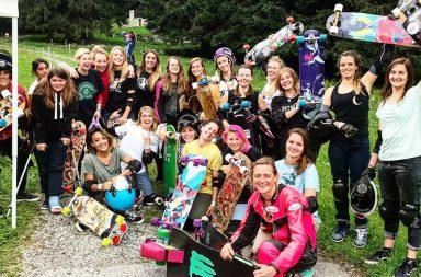 Le Longboard Grils Crew, plus grand mouvement de skate féminin