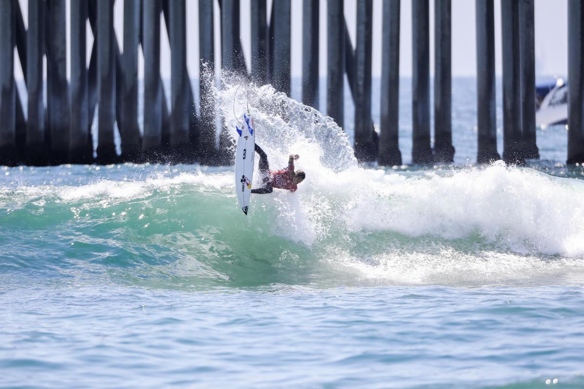 Kanoa Igarashi gagne le Vans US Open à Huntington Beach