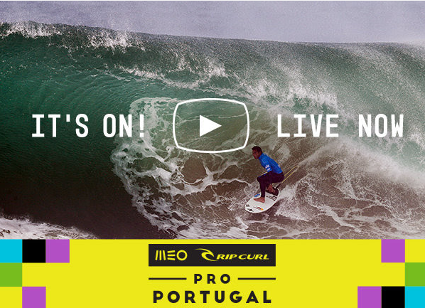 Suivez le MEO Rip Curl Portugal 2017 en live sur Ride And Slide