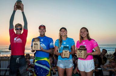 gabriel medina carissa moore win roxy pro quiksilver pro france 2017