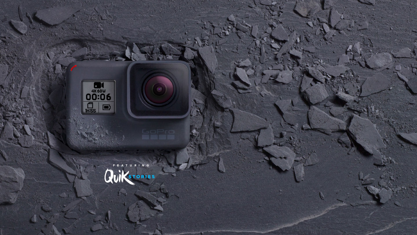 nouvelle gopro hero6 black quikstories