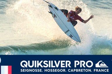 Retrouvez les résumés vidéos des deux premiers jours du Quiksilver Pro France 2017