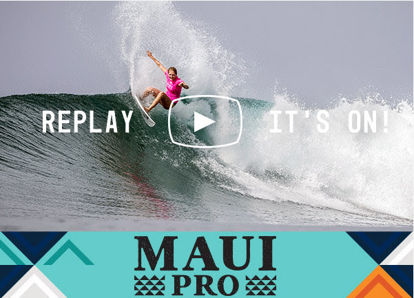 replay jour 2 maui women's pro 2017