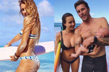 alana blanchard hot nude sexy thong bikini string surf