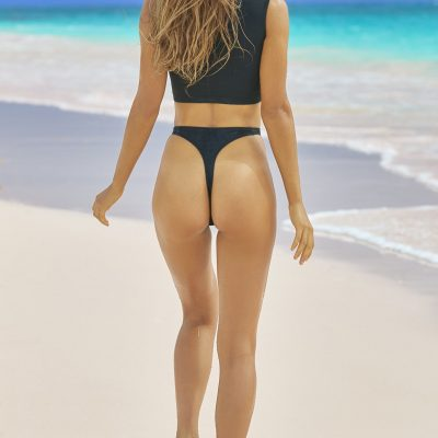 Chase Carter SI Swimsuit 2018 hot nude sexy thong string bikini nue