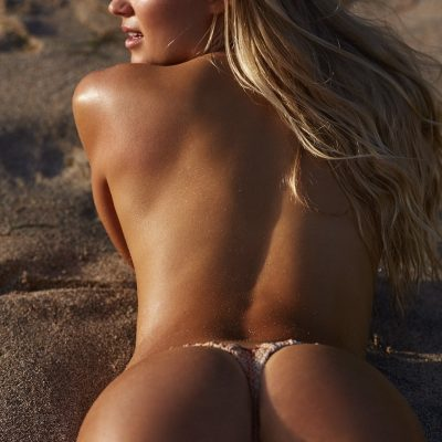 Vita Sidorkina SI Swimsuit 2018 hot nude sexy thong string bikini nue