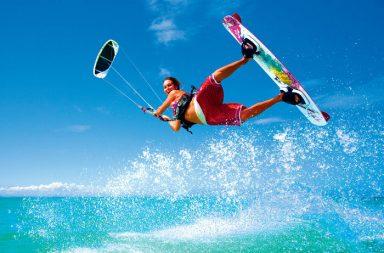 Comment débuter en kite surf