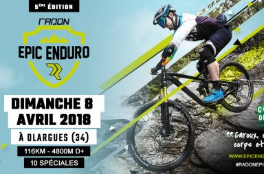 La Radon Epic Enduro, course de VTT à Olargues