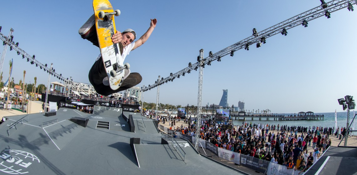 fise world tour jeddah arabie saoudite bmx skate roller trottinette freestyle