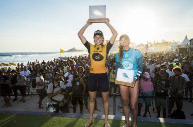 Stephanie Gilmore et Filipe Toledo s'impose sur le Oi Rio Pro 2018 !