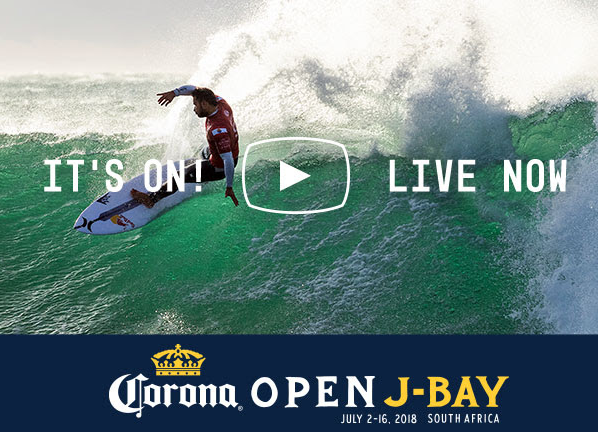 Corona Open J-Bay 2018 en live surf Ride And Slide