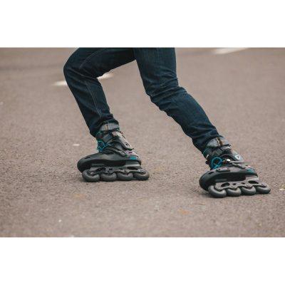 Oxelo Roller Freeride MF500 HB Noir Bleu