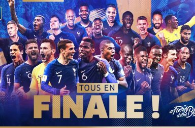 France Croatie Finale de la Coupe du Monde de Football 2018 en Russie