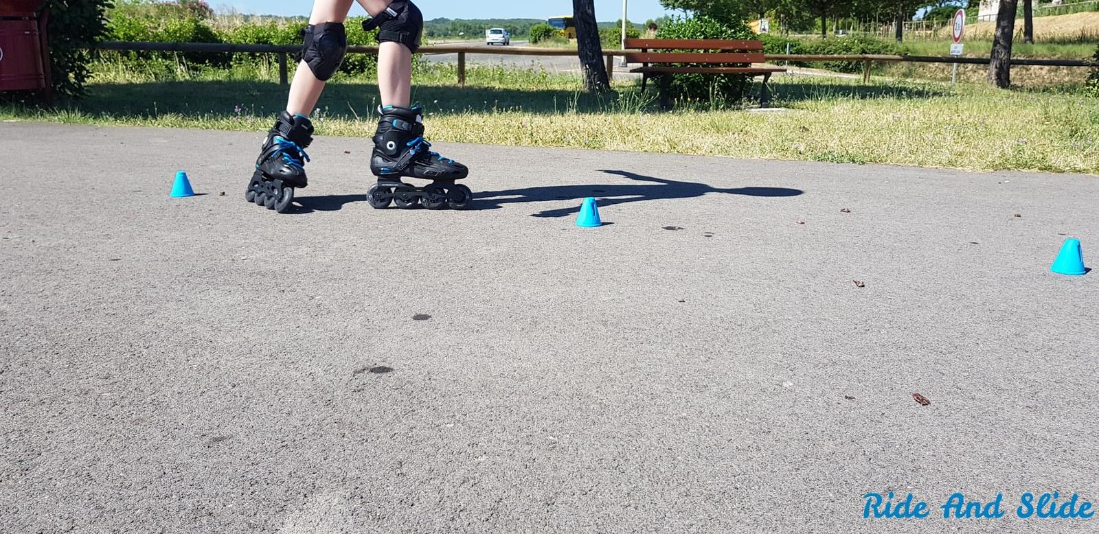 Test des rollers freeride MF500 HB Oxelo