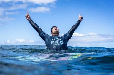 tahiti pro 2018 teahupoo gabriel medina gagne