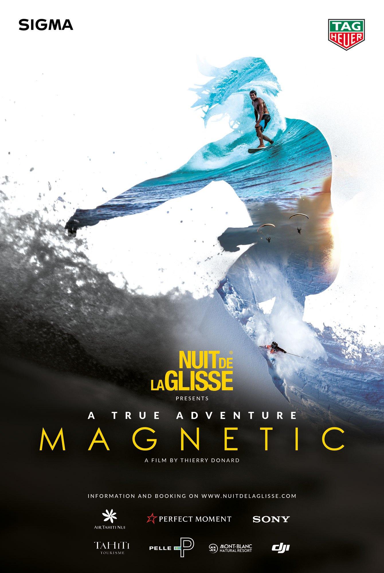 la nuit de la glisse 2018 magnetic thierry donard