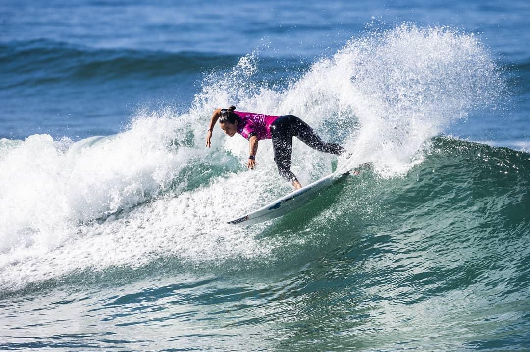Johanne Defay surf Roxy Pro France 2018