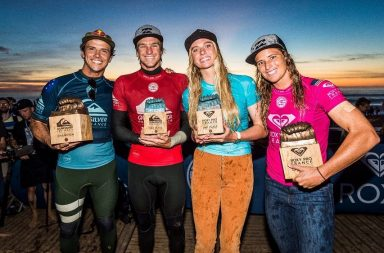 Julian Wilson remportent le Quiksilver Pro France, Courtney Conlogue le Roxy Pro