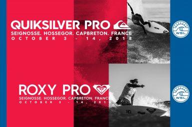 Quiksilver Pro France Roxy Pro France 2018 en live