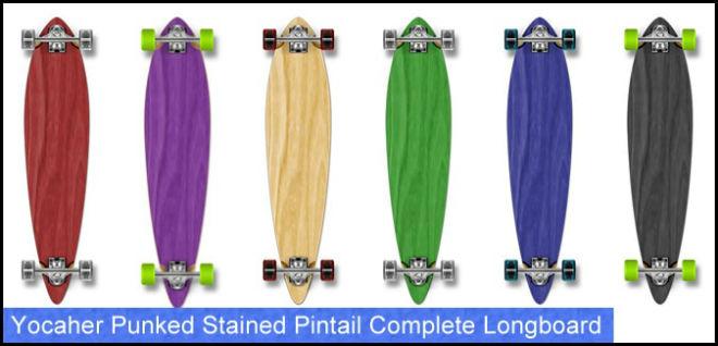 yocaher professionnel drop down longboard meilleur longboards débutants