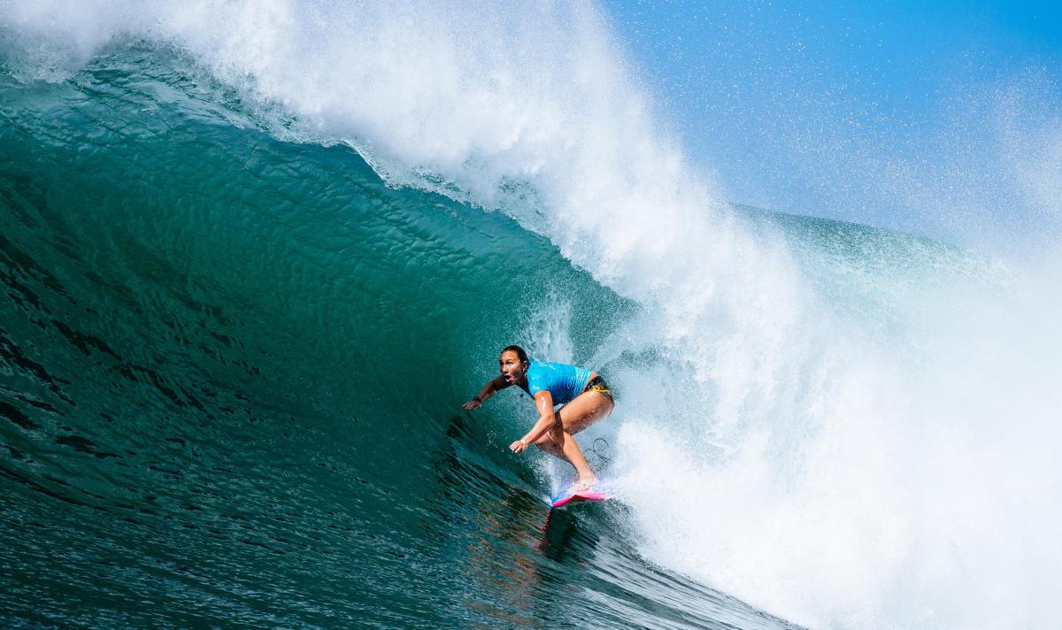 Carissa Moore surfing maui thong string bikini nude nue