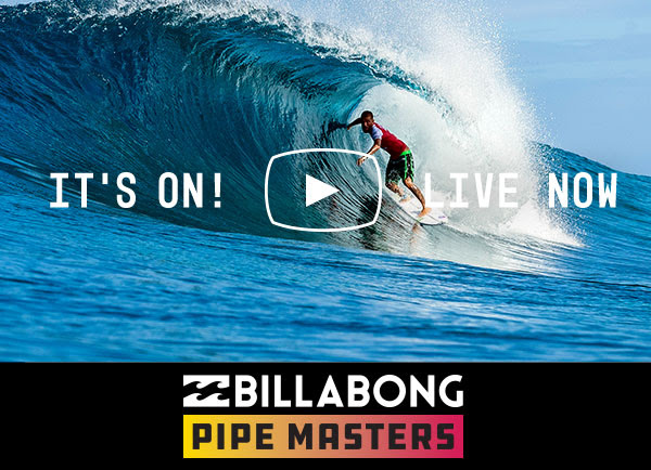 Billabong Pipe Masters 2018 en live sur Ride And Slide