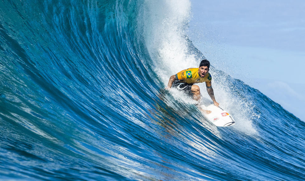 Gabriel Medina champion du monde de surf 2018 WSL World Surf League