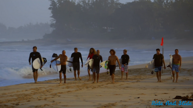 Momentum generation Kelly Slater, Rob Machado, Shane Dorian, Taylor Knox, Kalani Robb, Benji Weatherly, Ross Williams, Pat O'Connell, Taylor Steele