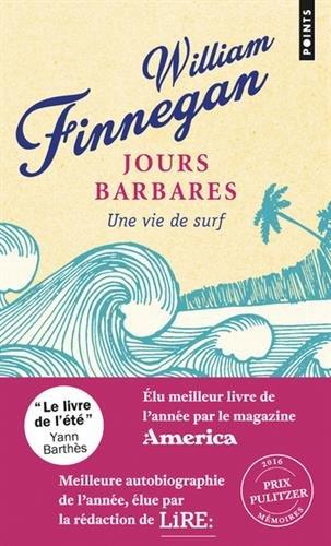 top 10 des livres de surf - Jours barbares – Une vie de surf