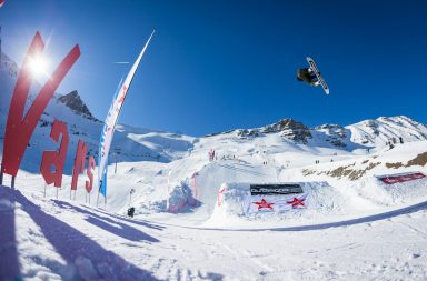 Coupe d'Europe de Snowboard Freestyle à l'OutdoorMix Winter Festival