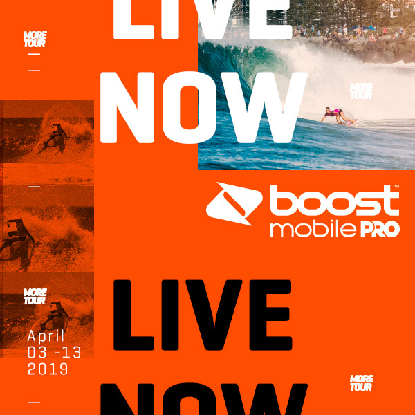 Boost Mobile Pro Gold Coast en live