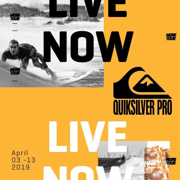 Quiksilver Pro & Boost Mobile Pro Gold Coast en live sur ride and slide
