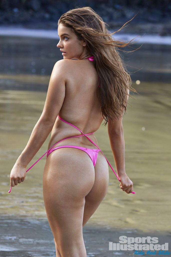 Barbara Plavin sports illustrated swimsuit 2019 thong string bikini sexy ass nude nue