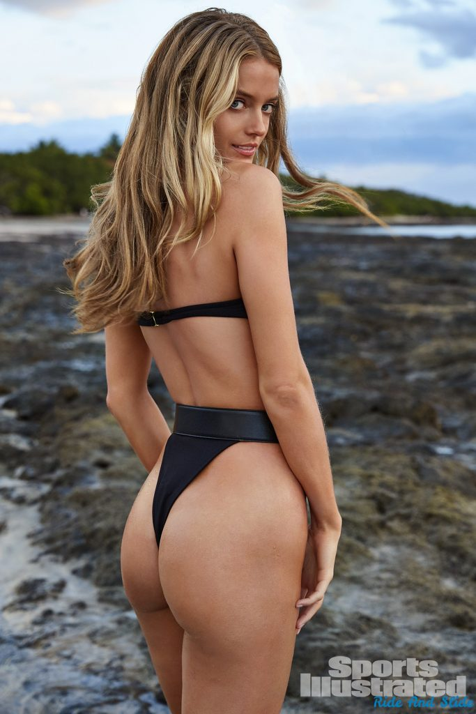 Kate Bock sports illustrated swimsuit 2019 thong string bikini sexy ass nude nue