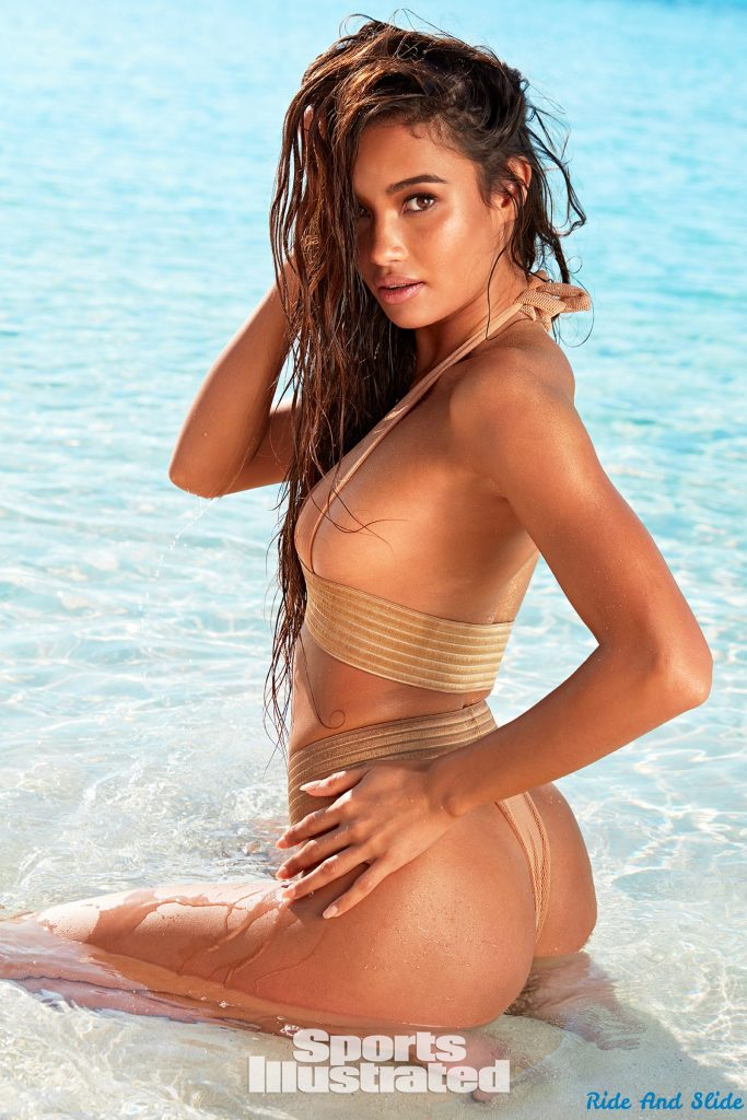 Kelsey Meritt sports illustrated swimsuit 2019 thong string bikini sexy ass nude nue