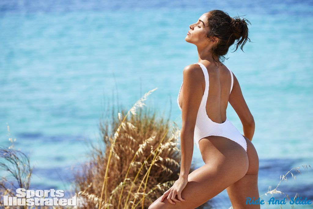 Olivia Culpo sports illustrated swimsuit 2019 thong string bikini sexy ass nude nue