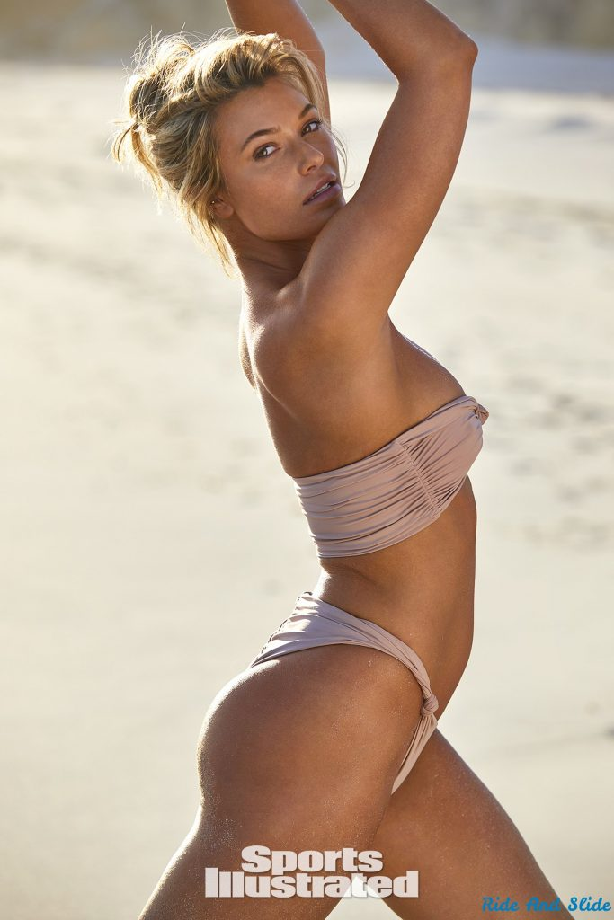 Samantha Hoopes sports illustrated swimsuit 2019 thong string bikini sexy ass nude nue