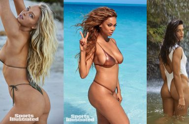 Sports Illustrated Swimsuit 2019 cover Camille Kostek tyra banks alex morgan thong bikini string nude ass sexy